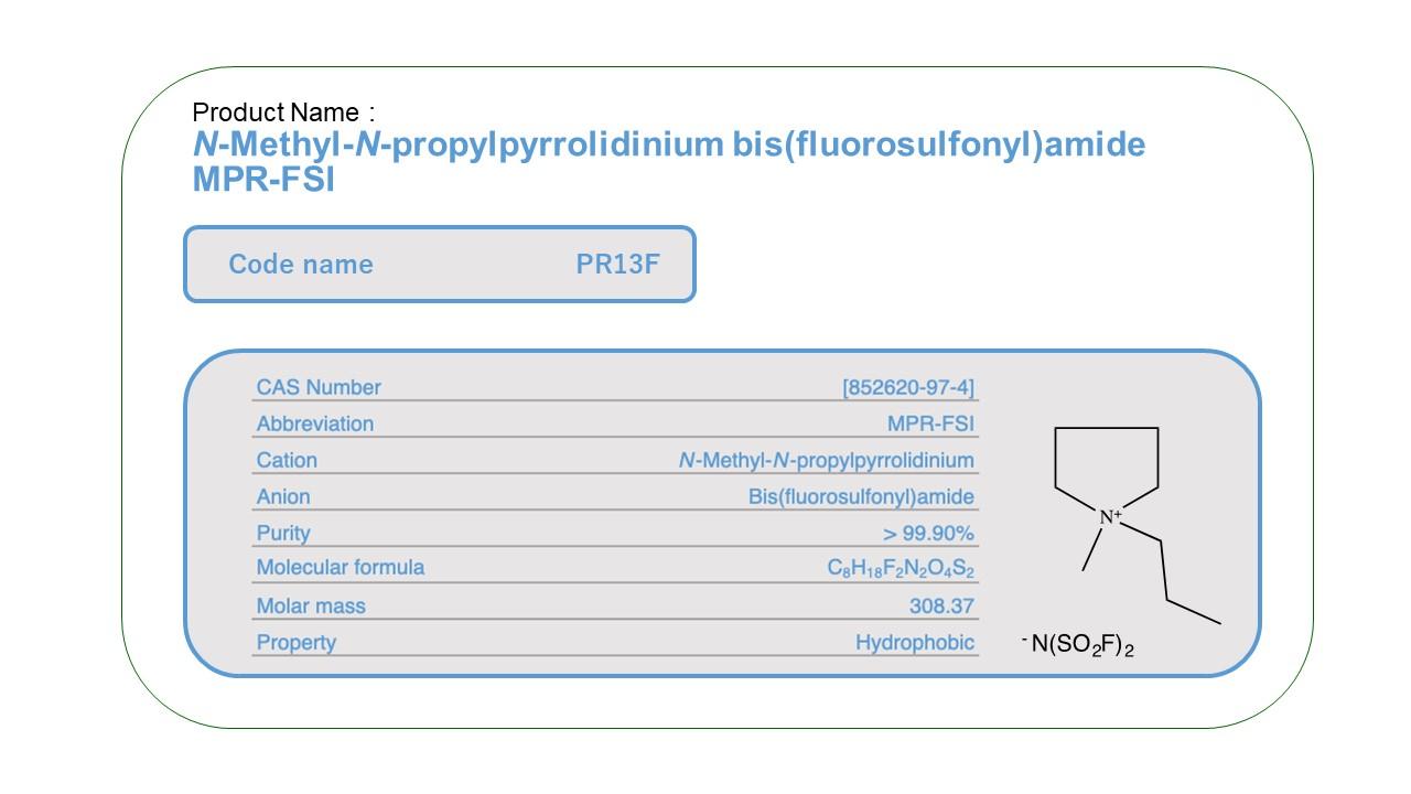 Product Name PR13F  MPR-FSI