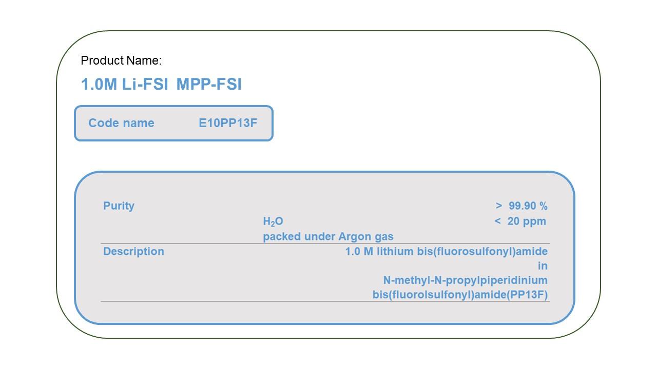 Product Name  E10PP13F MPP-FSI